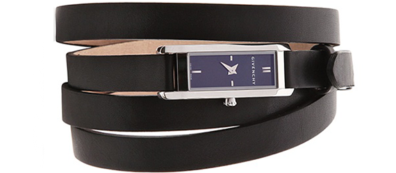 Six Roll Calf Strap Watch